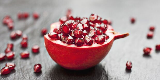 So gesund und schön macht der Granatapfel