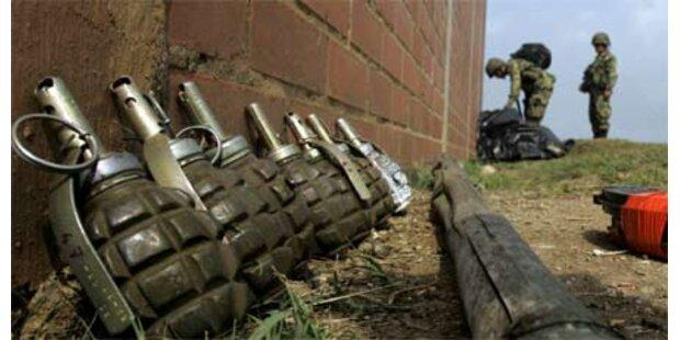 39 Tote bei Gefechten in Kolumbien