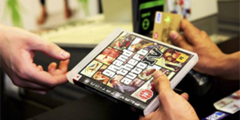 """Verkaufsschlager """"Grand Theft Auto IV"""""""