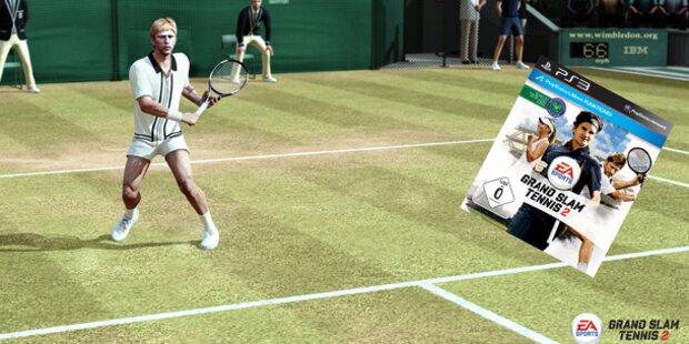 Grand Slam Tennis 2 ab sofort erhältlich