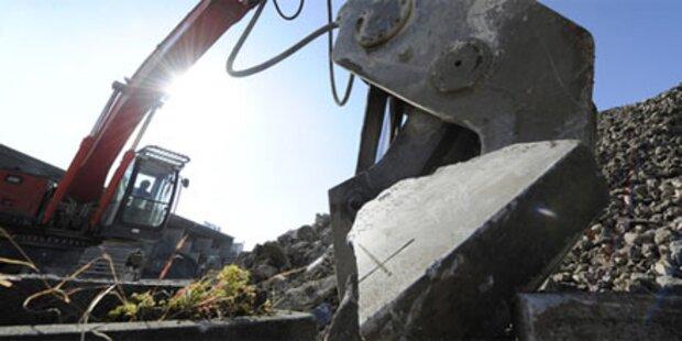 Arbeiter von Granitplatten erdrückt