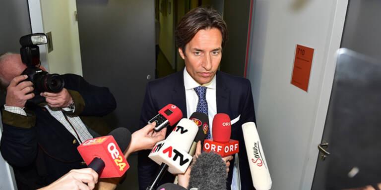 Grasser klagt seinen Steuerberater