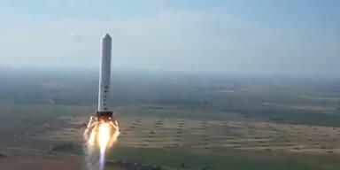 Grasshopper: Neuartige Rakete landet wieder