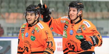 Graz 99ers glückte ICE-Kaltstart: 4:2 gegen VSV