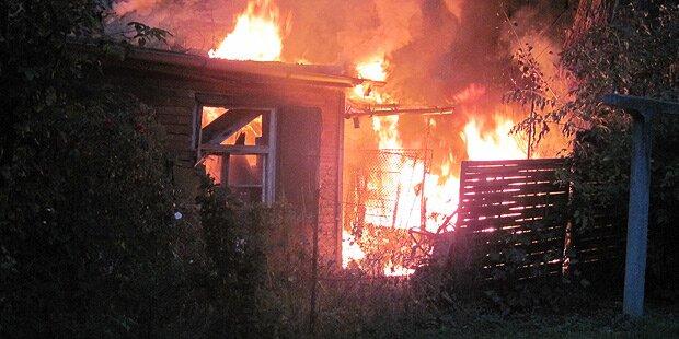 Mann (44) stirbt bei Brand