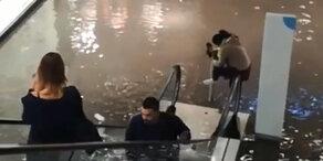 Heftiger Regen: Graz steht unter Wasser