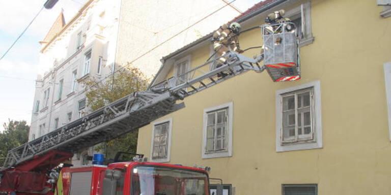 Grazerin aus verqualmter Wohnung gerettet
