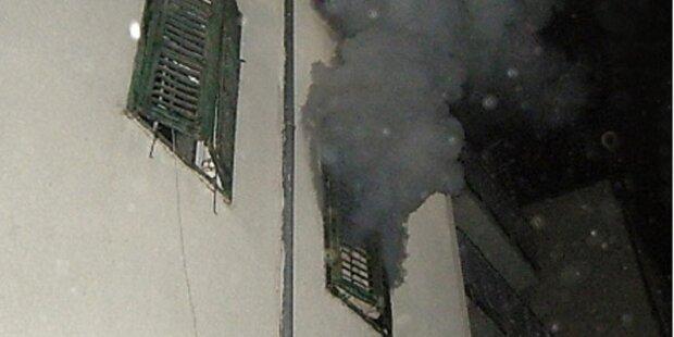Graz: Mann stirbt bei Zimmerbrand