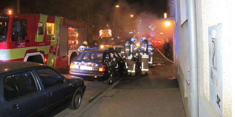 Kellerbrand: Fünf Verletzte durch Qualm