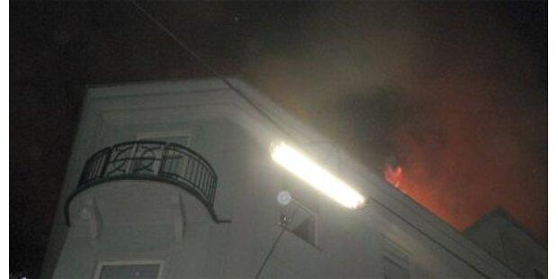 Großbrand in Grazer Innenstadt