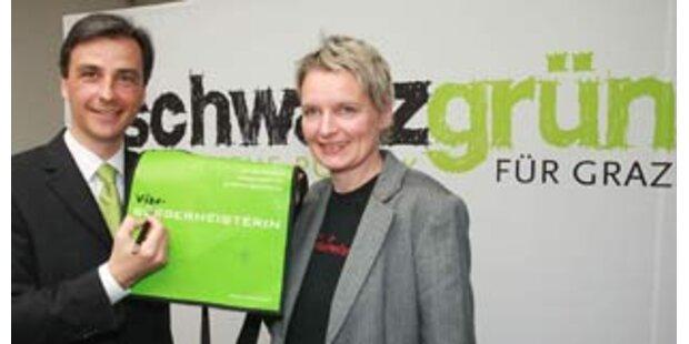 ÖVP und Grüne regieren in Graz