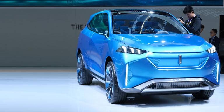 E-Autos aus China greifen in Europa an