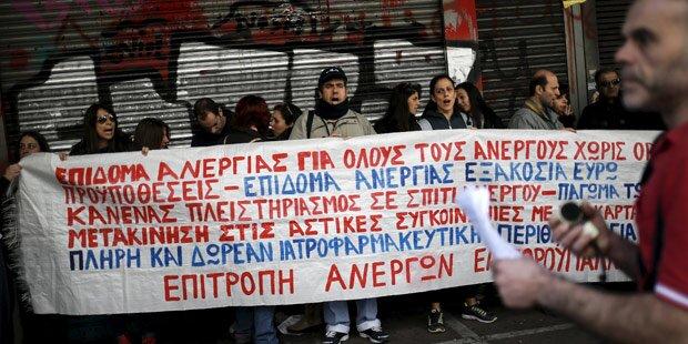 Generalstreik legt Griechenland lahm