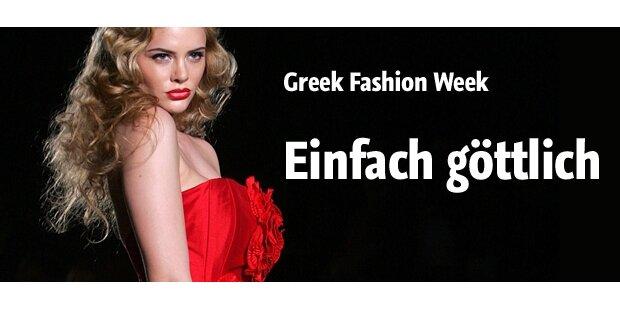 Einfach göttlich! Fashion Week in Athen