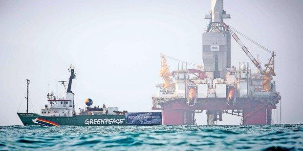Austro-Greenpeace-Aktivisten verhaftet