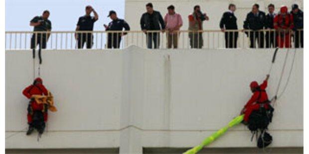 Greenpeace-Aktivisten bei Protest verhaftet