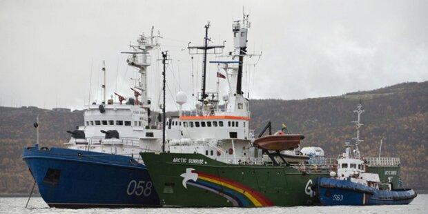 Russland klagt Greenpeace wegen Piraterie