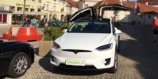 Greenride vermietet Tesla-Modelle günstig