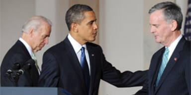 Dritter Minister gibt Obama einen Korb