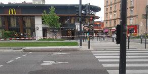 Explosion bei McDonalds - Terrorangst in Frankreich
