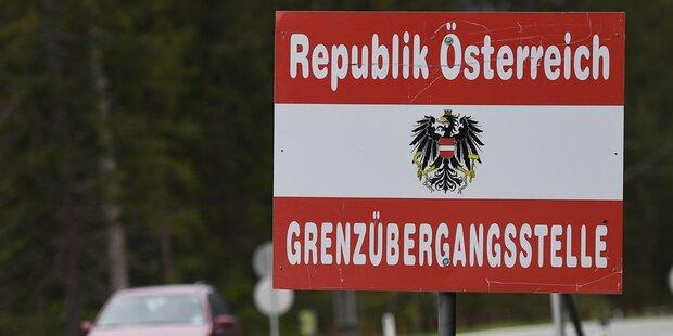 Österreich öffnet Grenzen zu Tschechien, der Slowakei und Ungarn
