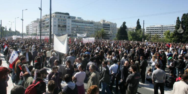 Demos in Griechenland gehen weiter