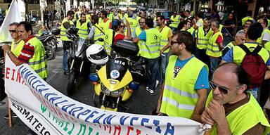 Griechenland - Streik