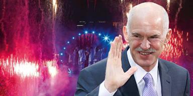 Griechen feiern 70-Mio.-Euro-Party