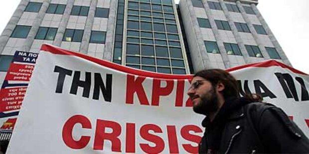 Massiver Streik legt Griechenland lahm