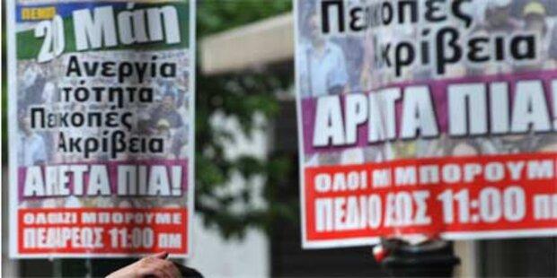 Landesweite Streiks in Griechenland