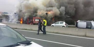 Vier Tote bei Crash in Griechenland