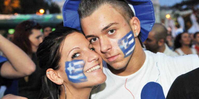 Griechen heben ihr Erspartes ab