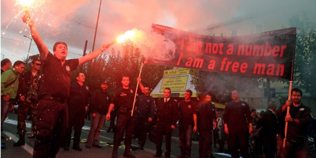 Streiks haben in Griechenland begonnen