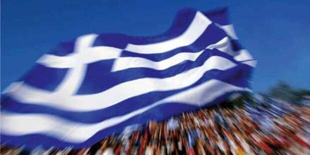 Von uns kriegen die Griechen nichts