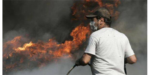Brände halten Süd-Europa weiter in Atem