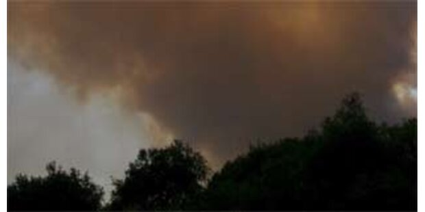 Zwei Tote bei Bränden in Griechenland