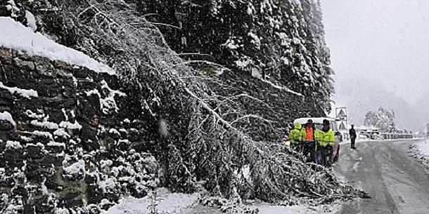 Schnee in Gries am Brenner