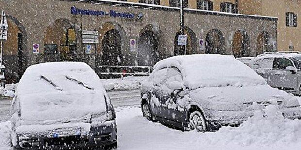 Jetzt kommt der Schnee bis in die Täler