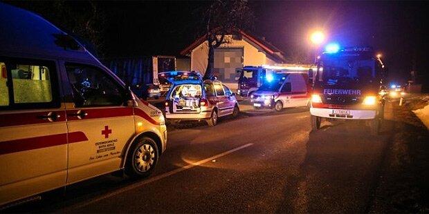 16 Verletzte in Faschings-Lkw
