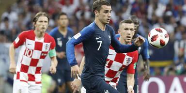 Frankreich ist Weltmeister