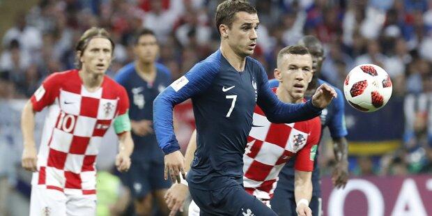 4:2 - VIVE LA FRANCE! Frankreich ist Weltmeister