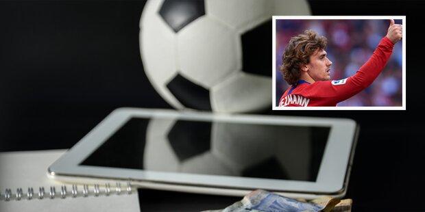 Hammer: Griezmann-Flucht löst Mega-Deals aus