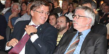Fritz Grillitsch und Thilo Sarrazin