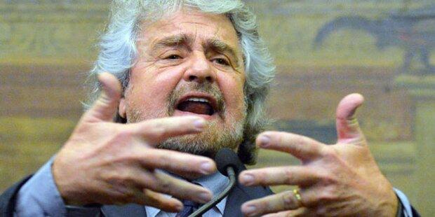 Beppe Grillo zu 4 Monaten Haft verurteilt