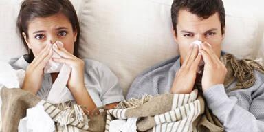 Grippe-Welle überrollt Österreich