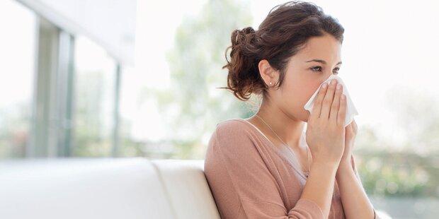 Kampf den Grippe-Viren