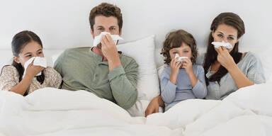 Grippe zweimal in selber Saison möglich?