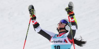 Franziska Gritsch bringt Top-Leistung