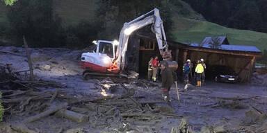 Schwere Unwetterschäden in Salzburg