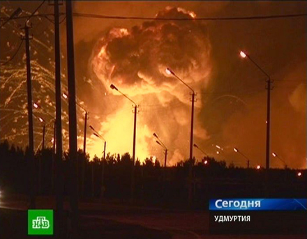 Großbrand, Brand, Russland